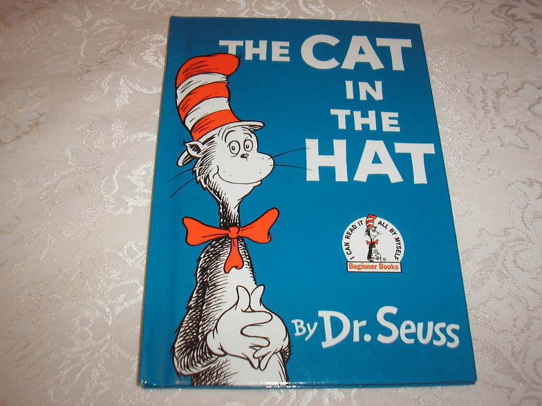 The Cat In The Hat Dr. Seuss like new hc