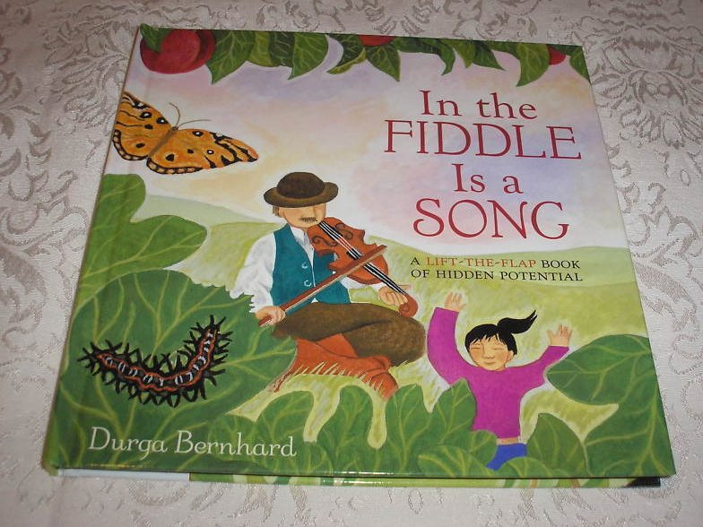 In the Fiddle Is a Song brand new lift the flap hardcover