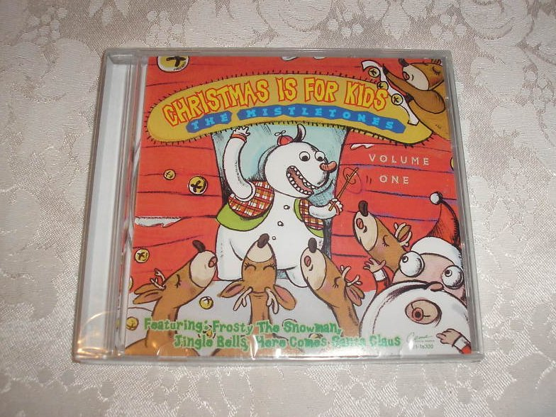 Christmas Is For Kids Volume 1 brand new sealed CD