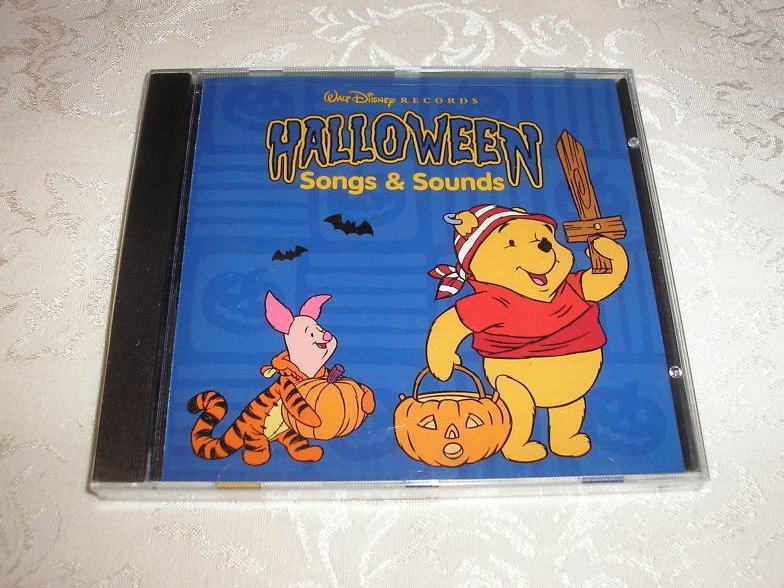 Walt Disney Halloween Songs and Sounds brand new sealed CD