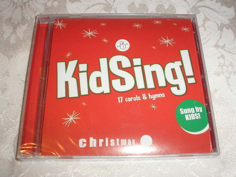 KidSing! 17 Carols and Hymns Christmas Brand New and Sealed Music CD