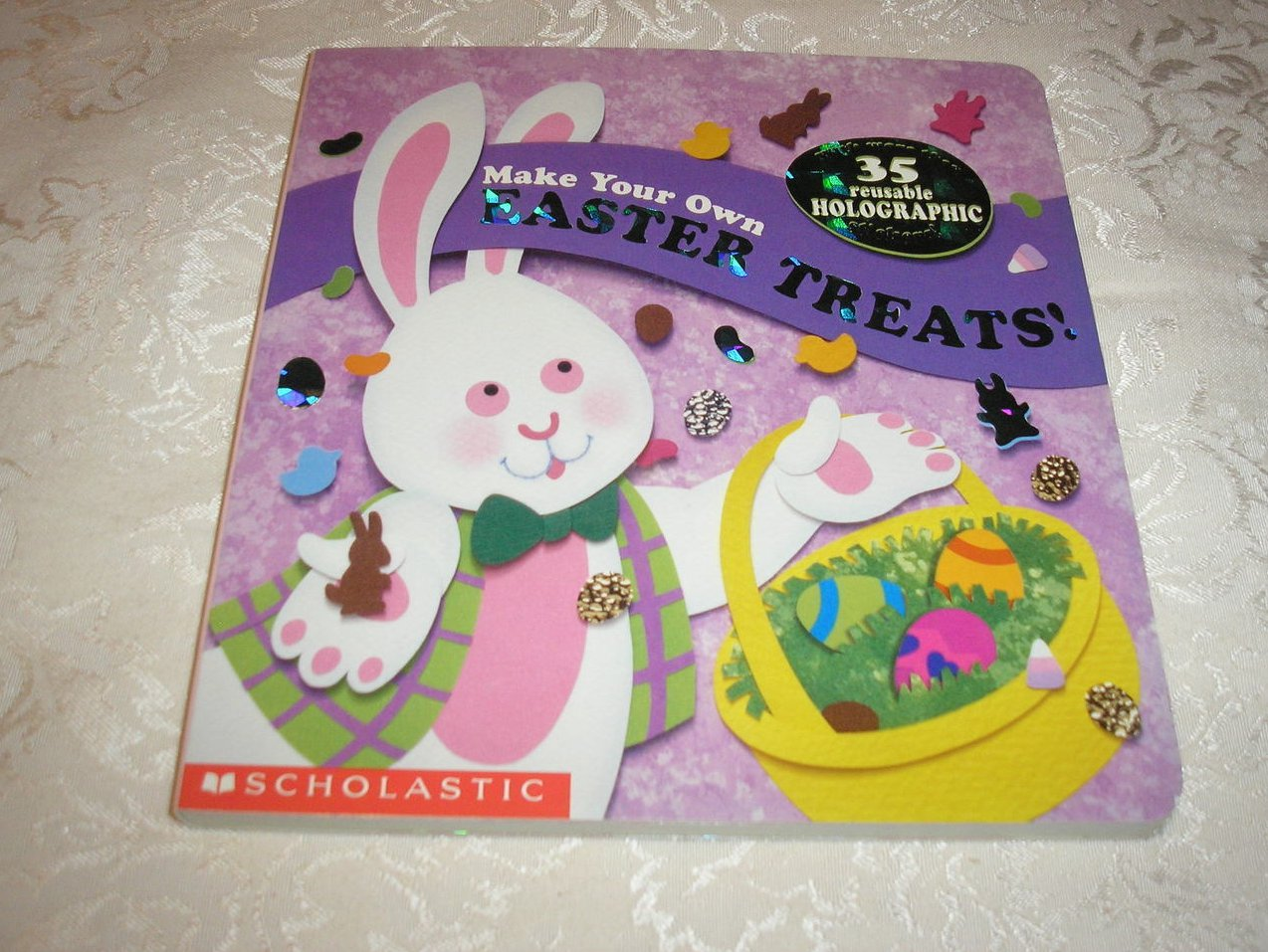 Make Your Own Easter Treats Sonali Fry new board book with stickers