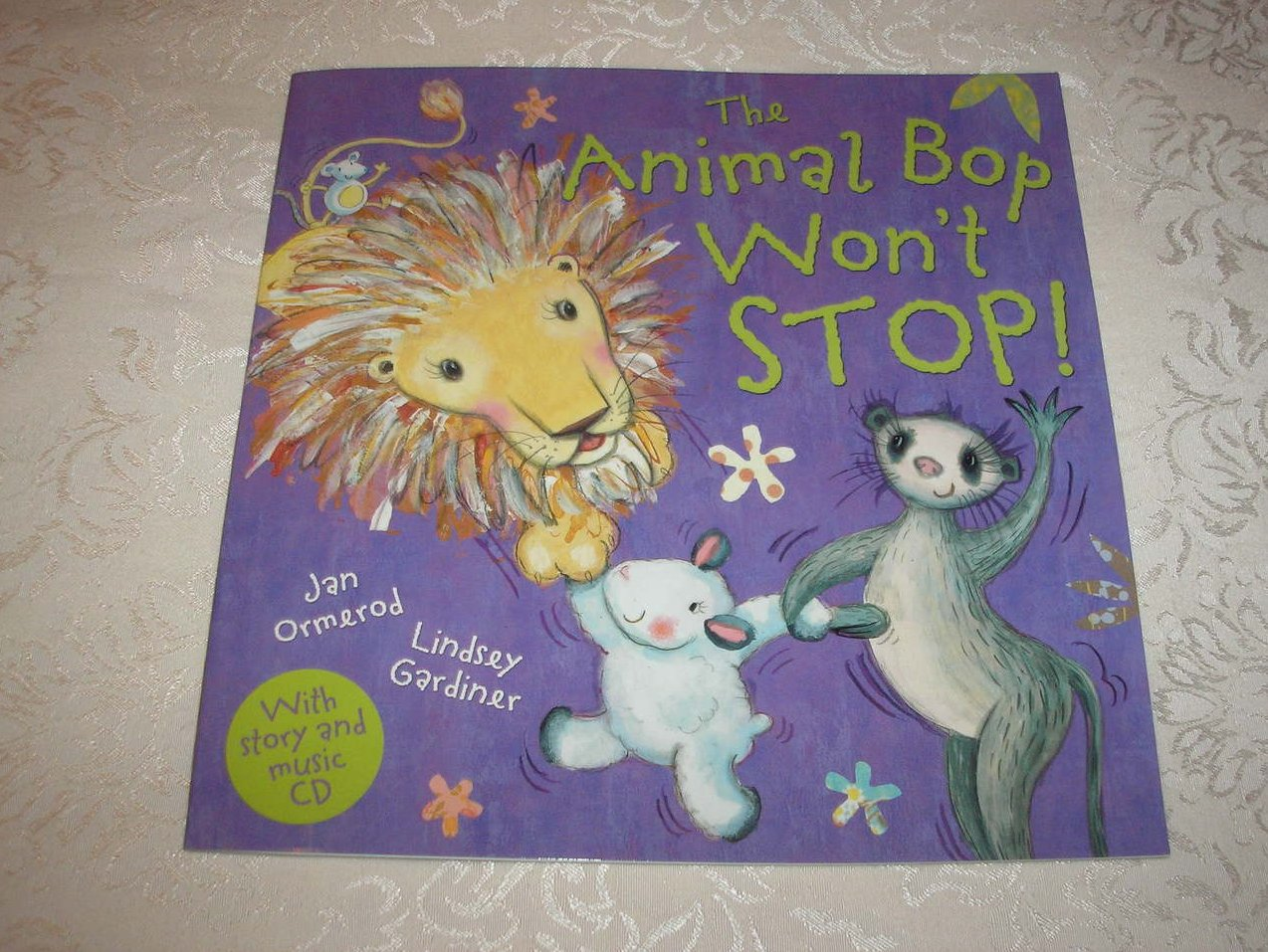 The Animal Bop Won't Stop! brand new sc with Audio CD