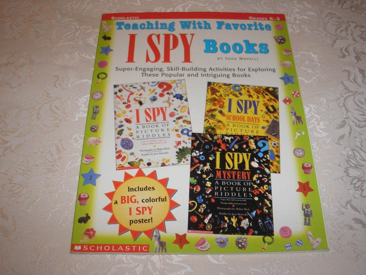 Teaching With Favorite I Spy Books brand new with poster included