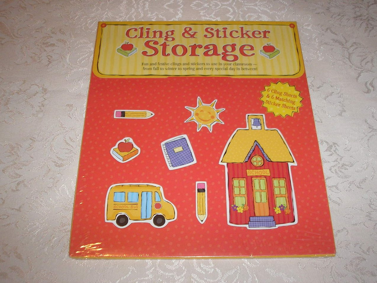 Cling and Sticker Sheets for All Seasons brand new, sealed
