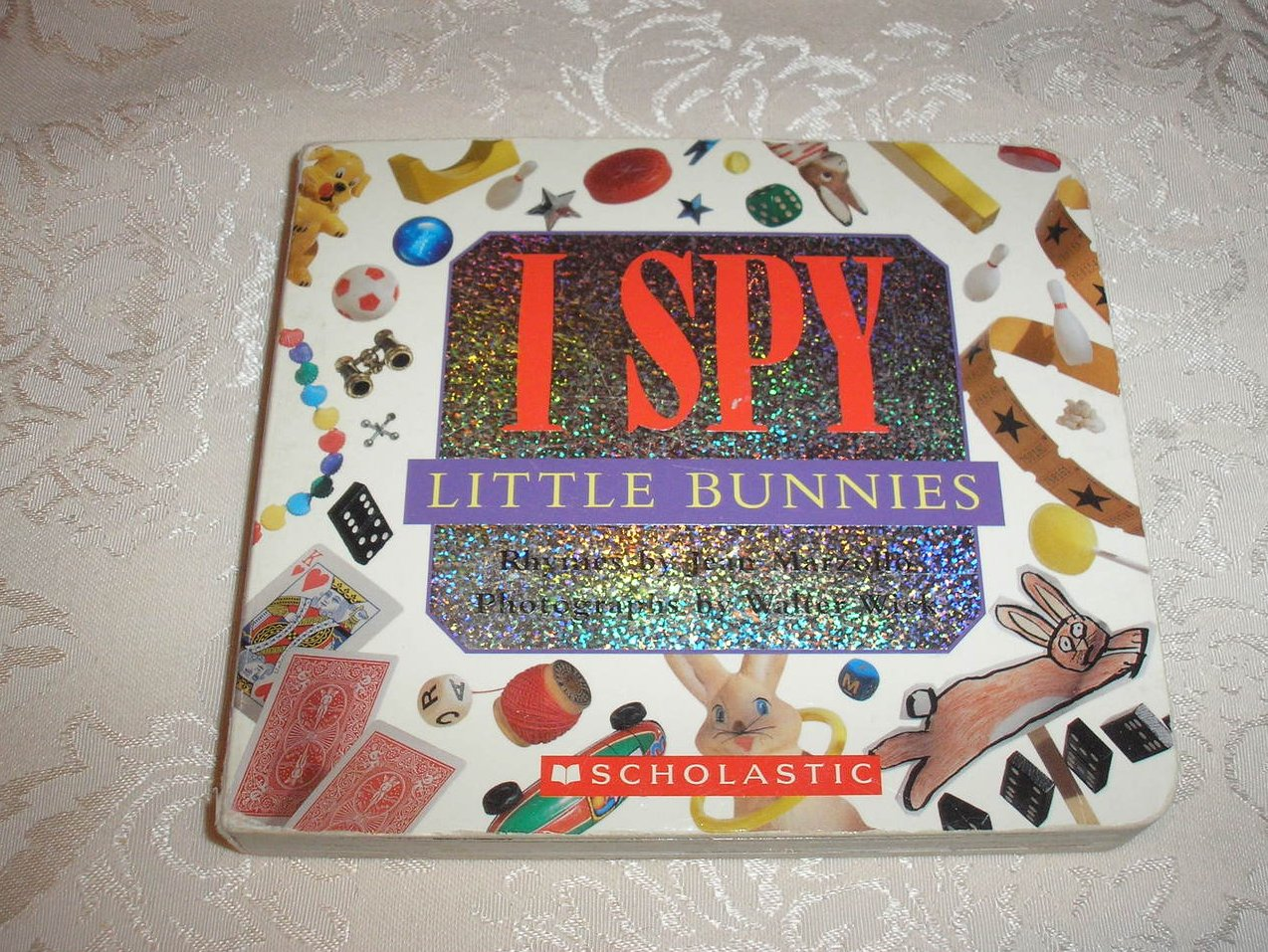 I Spy Little Bunnies Jean Marzollo good used board book