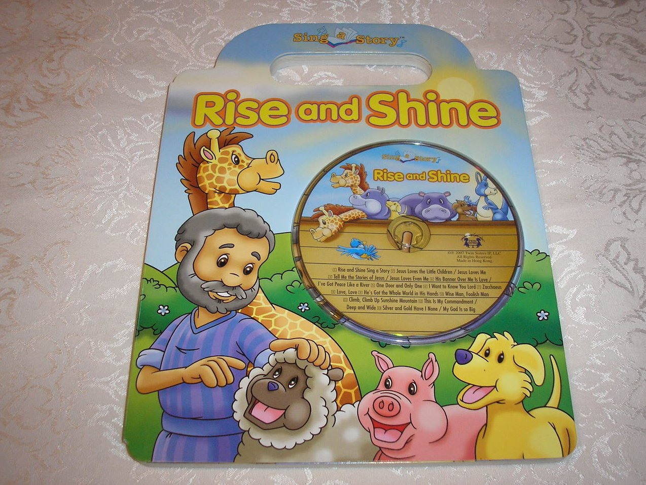 Rise and Shine Sing a Story new board book with Audio CD