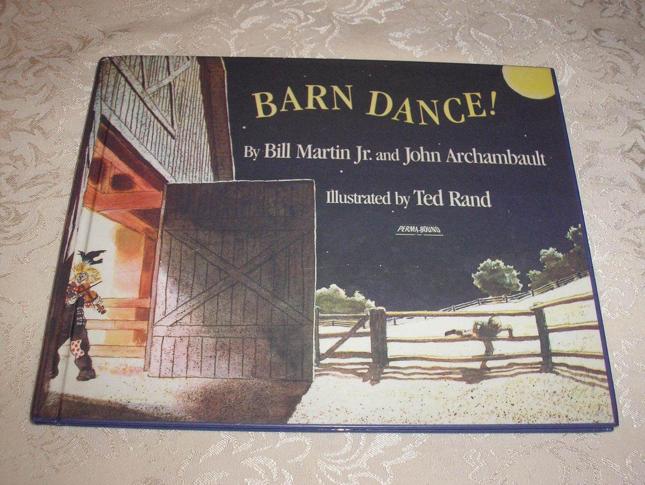 Barn Dance! Bill Martin Jr. & John Archambault good clean hc
