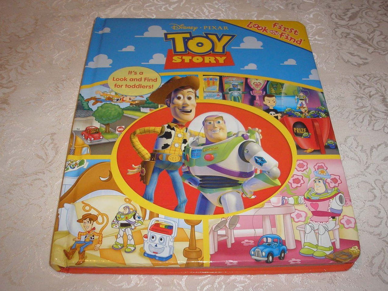 Image 0 of Disney Pixar Toy Story Look and Find padded board book
