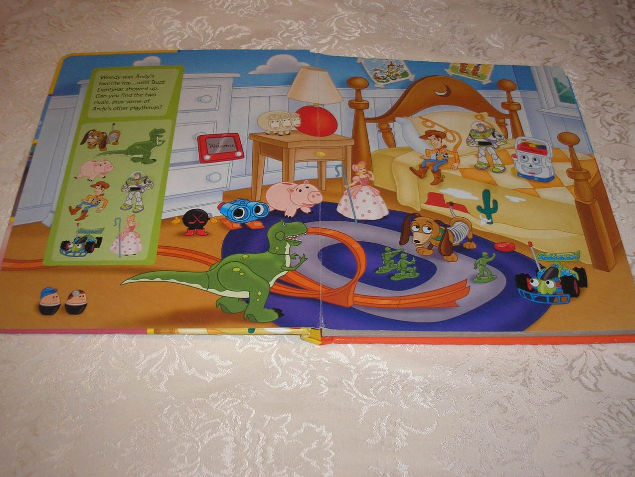 Image 1 of Disney Pixar Toy Story Look and Find padded board book