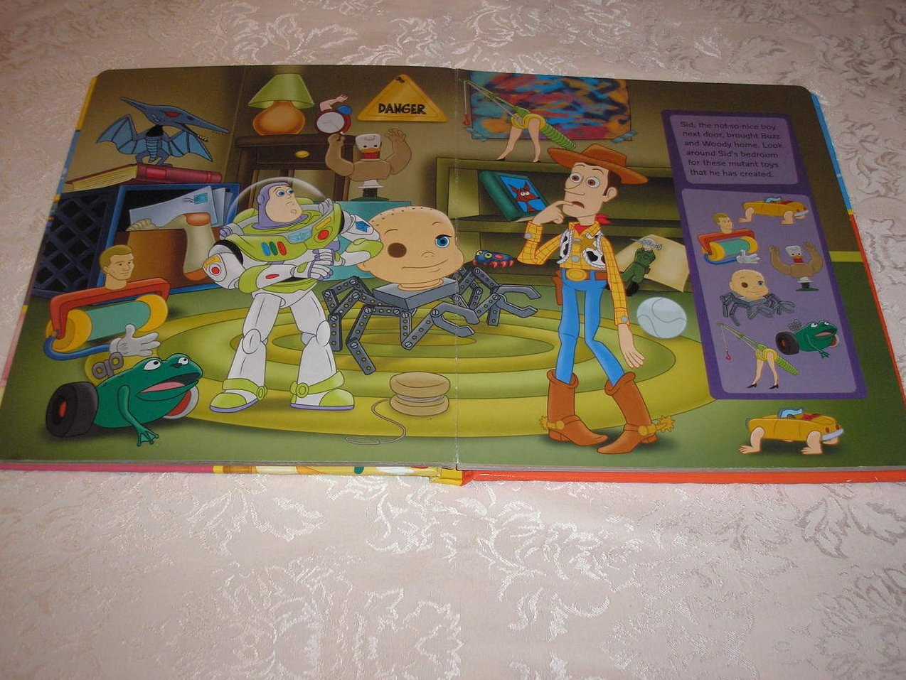 Image 2 of Disney Pixar Toy Story Look and Find padded board book