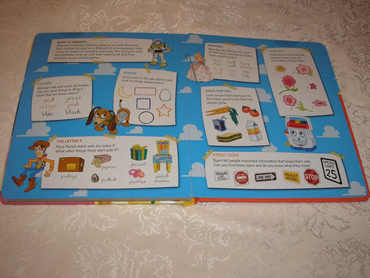 Image 3 of Disney Pixar Toy Story Look and Find padded board book