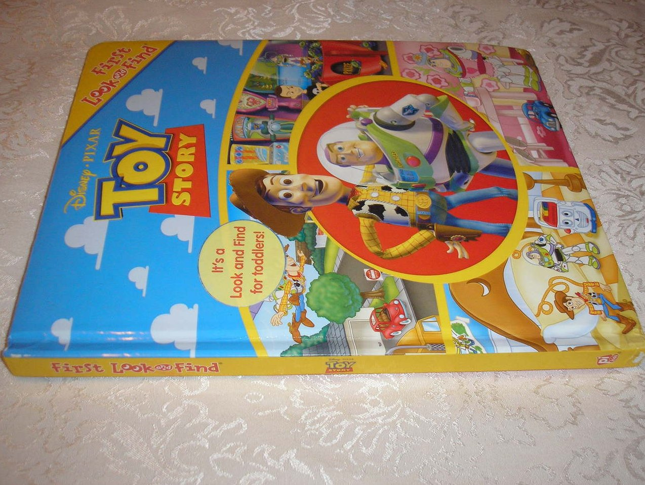 Image 5 of Disney Pixar Toy Story Look and Find padded board book