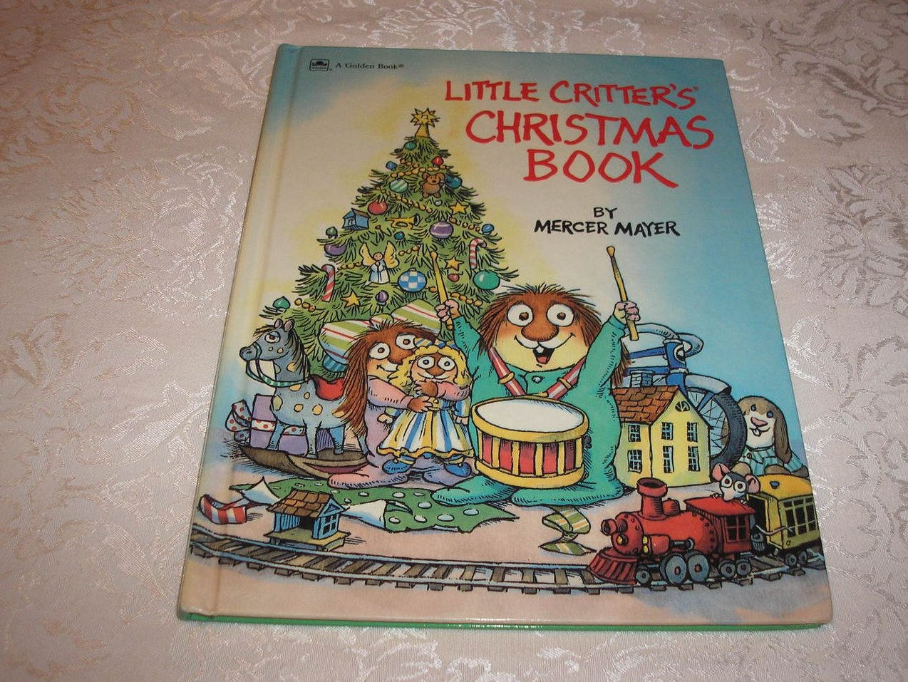 Little Critter's Christmas Book Mercer Mayer good 1989 hc