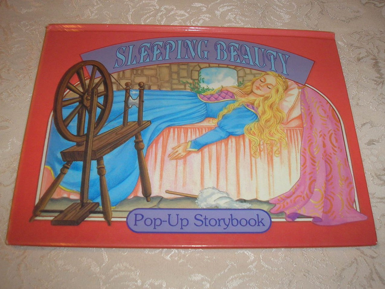 Sleeping Beauty Pop-Up Storybook good rare clean 1999 hc
