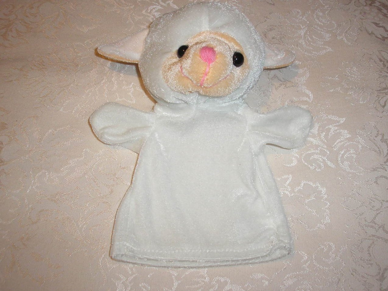 Lamb Hand Puppet 9 inches like new condition