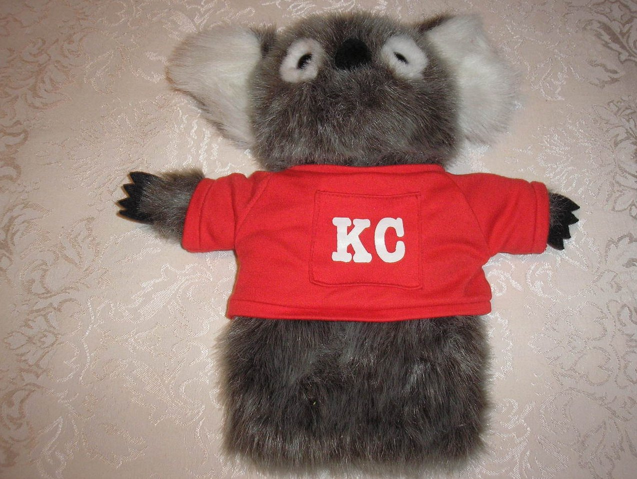 Plush Koala Hand Puppet 11 x 11 inches like new condition