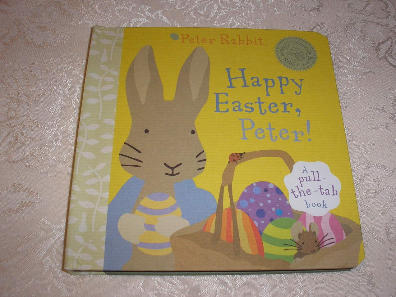 Happy Easter, Peter! Frederick Warne brand new pull the tab board book