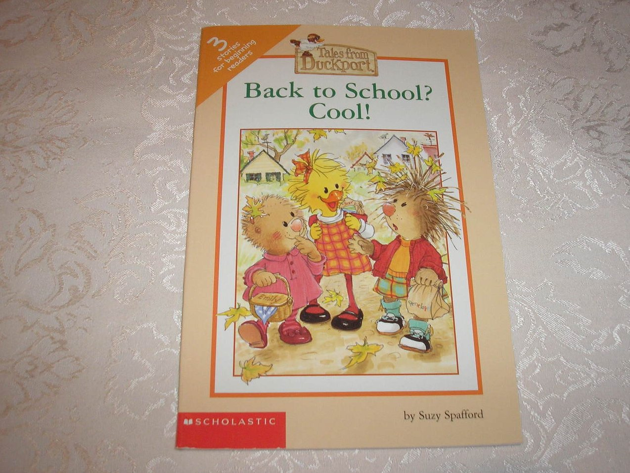 Back to School? Cool! like new Suzy's Zoo Scholastic reader