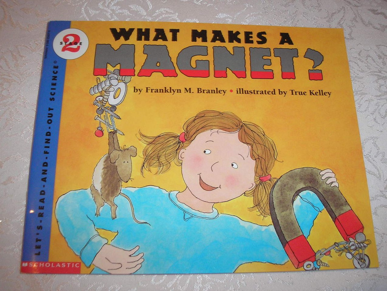 What Makes A Magnet? Franklyn Branley Stage 2 Science like new sc