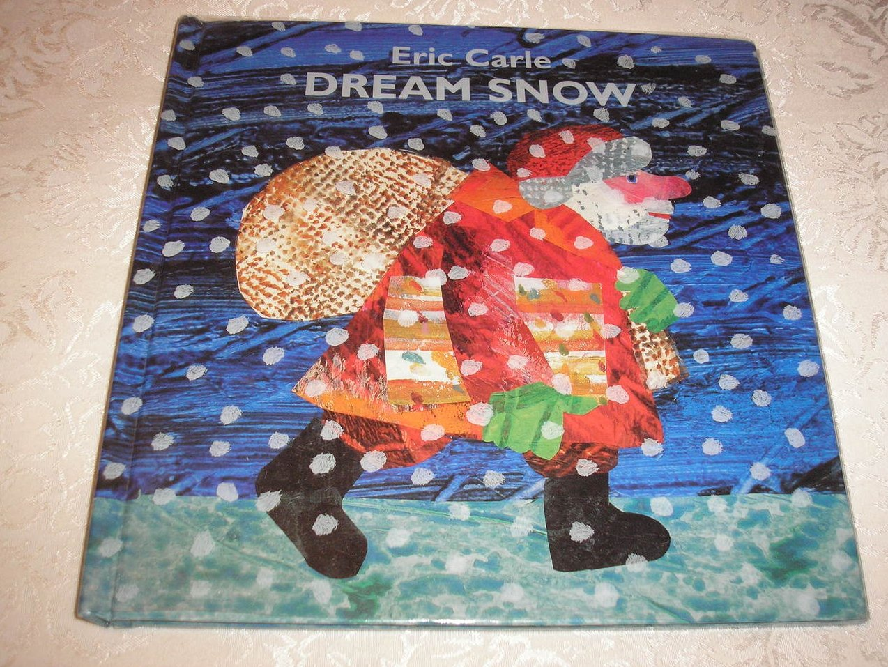 Dream Snow Eric Carle good used hc with dj