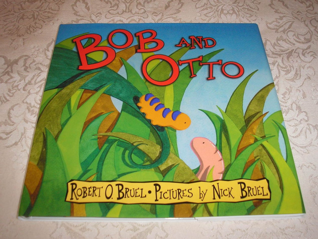 Bob And Otto Robert O. Bruel brand new hc with dj
