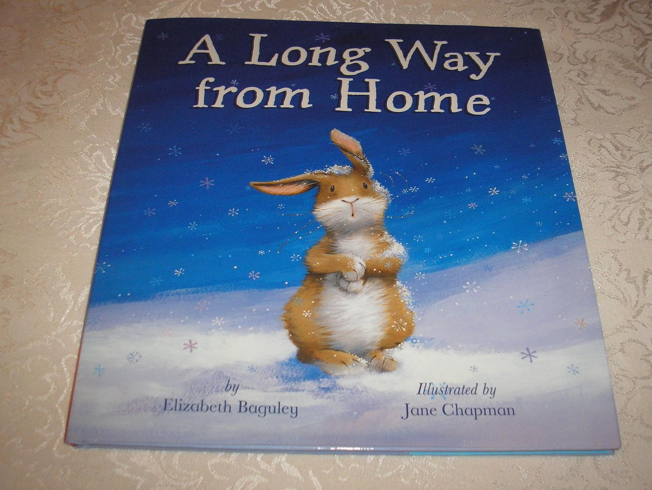 A Long Way From Home  Elizabeth Baguley Brand New HC with Dust Jacket