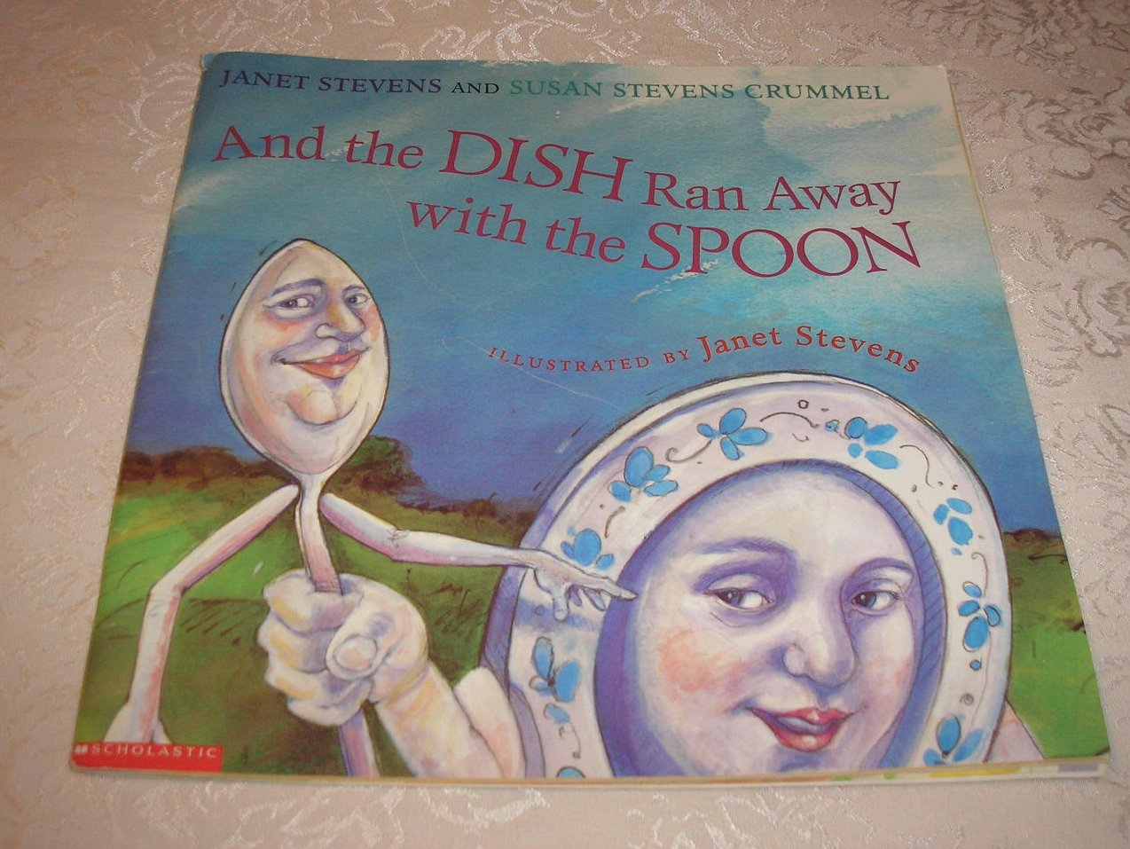 And the Dish Ran Away with the Spoon Stevens large used sc