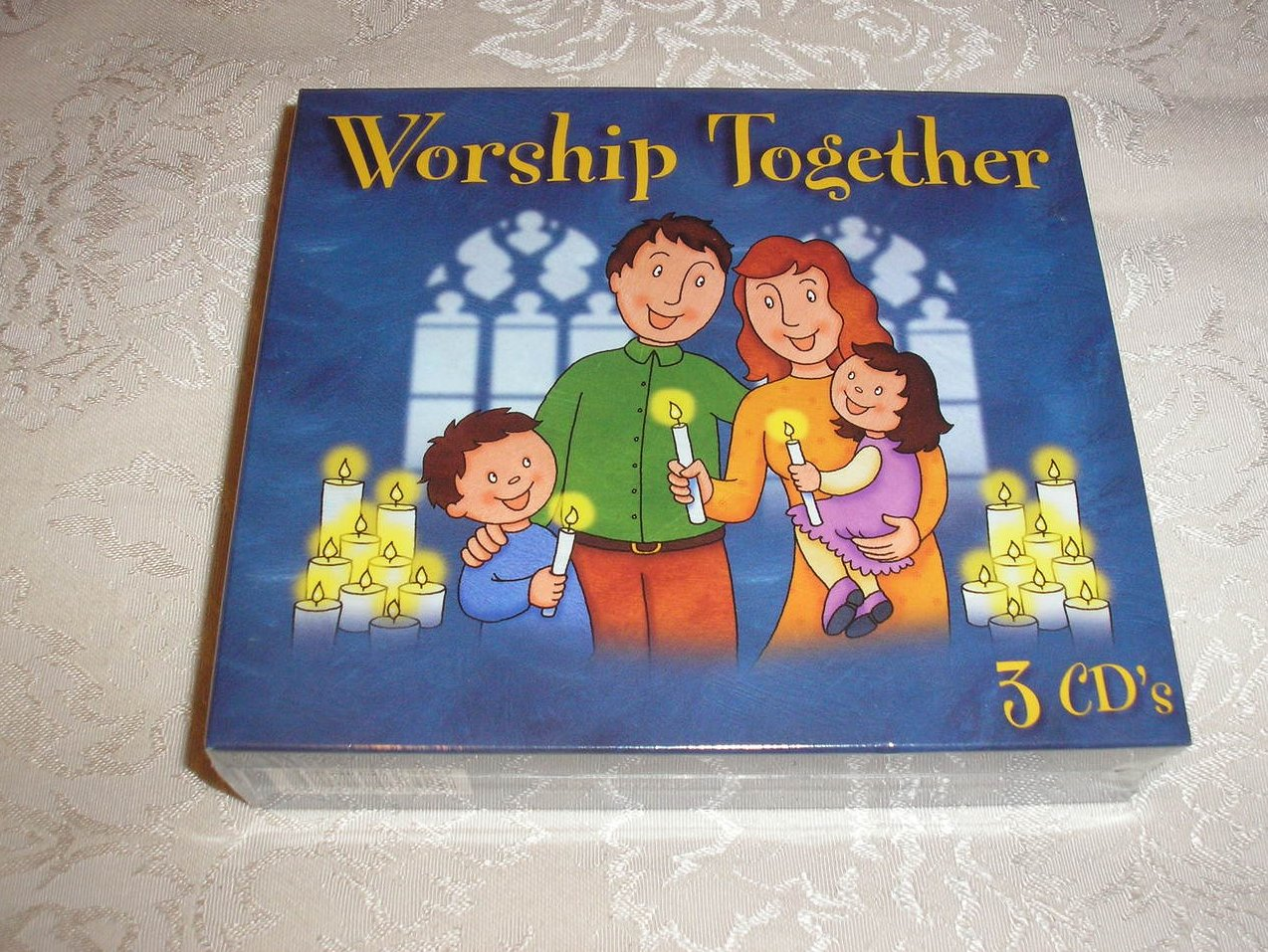 Kidzup Worship Together Brand New Sealed Set of 3 CDs