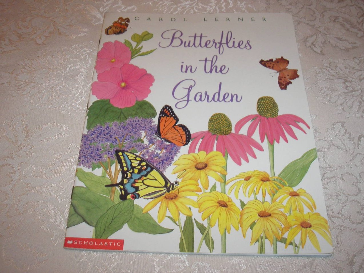 Butterflies in the Garden Carol Lerner good sc