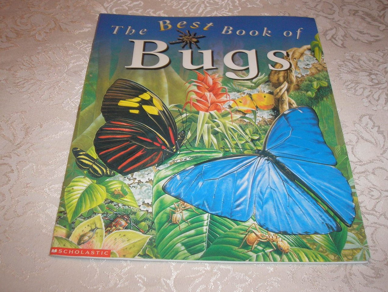 The Best Book of Bugs Claire Llewellyn good sc