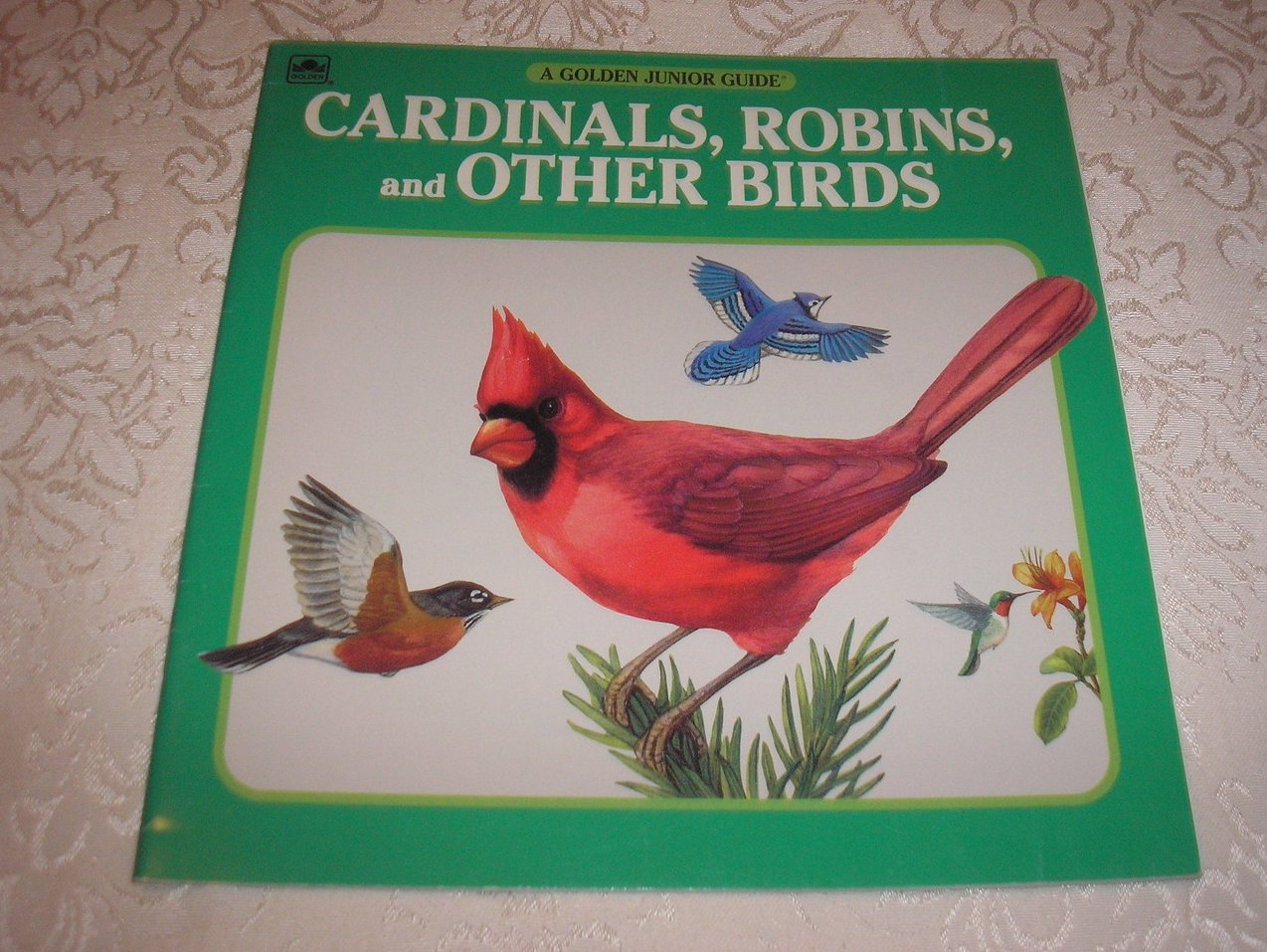 Cardinals, Robins, and Other Birds George S. Fichter good sc