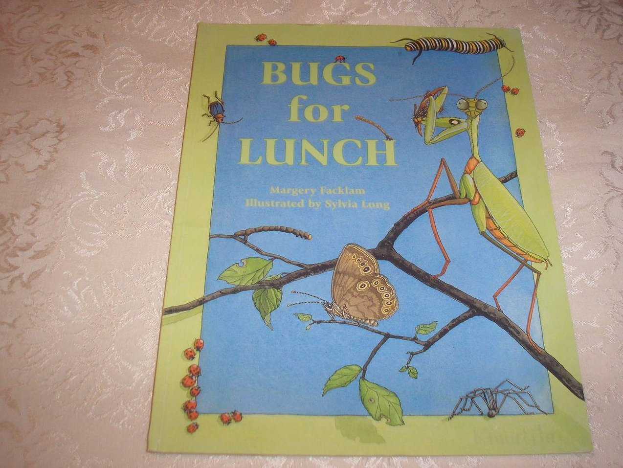 Bugs For Lunch Margery Facklam good sc