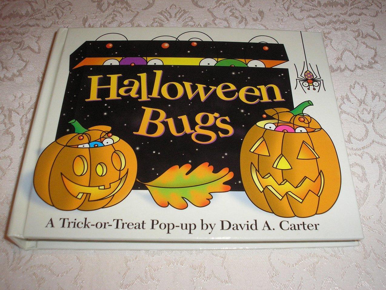 Halloween Bugs very good pop-up hc David A. Carter