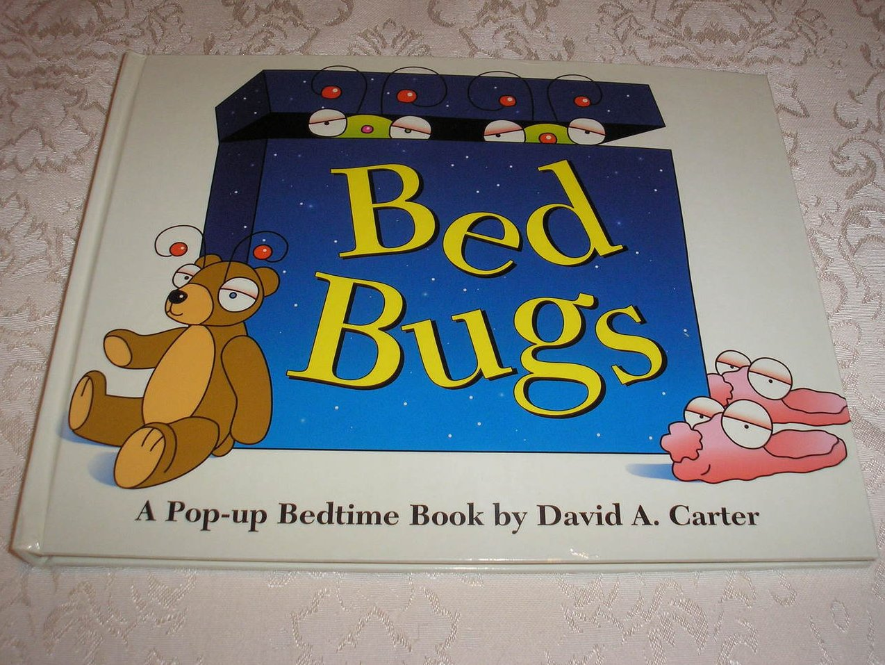 Bed Bugs David A. Carter very good pop-up, original size, 1st ed collectable hc