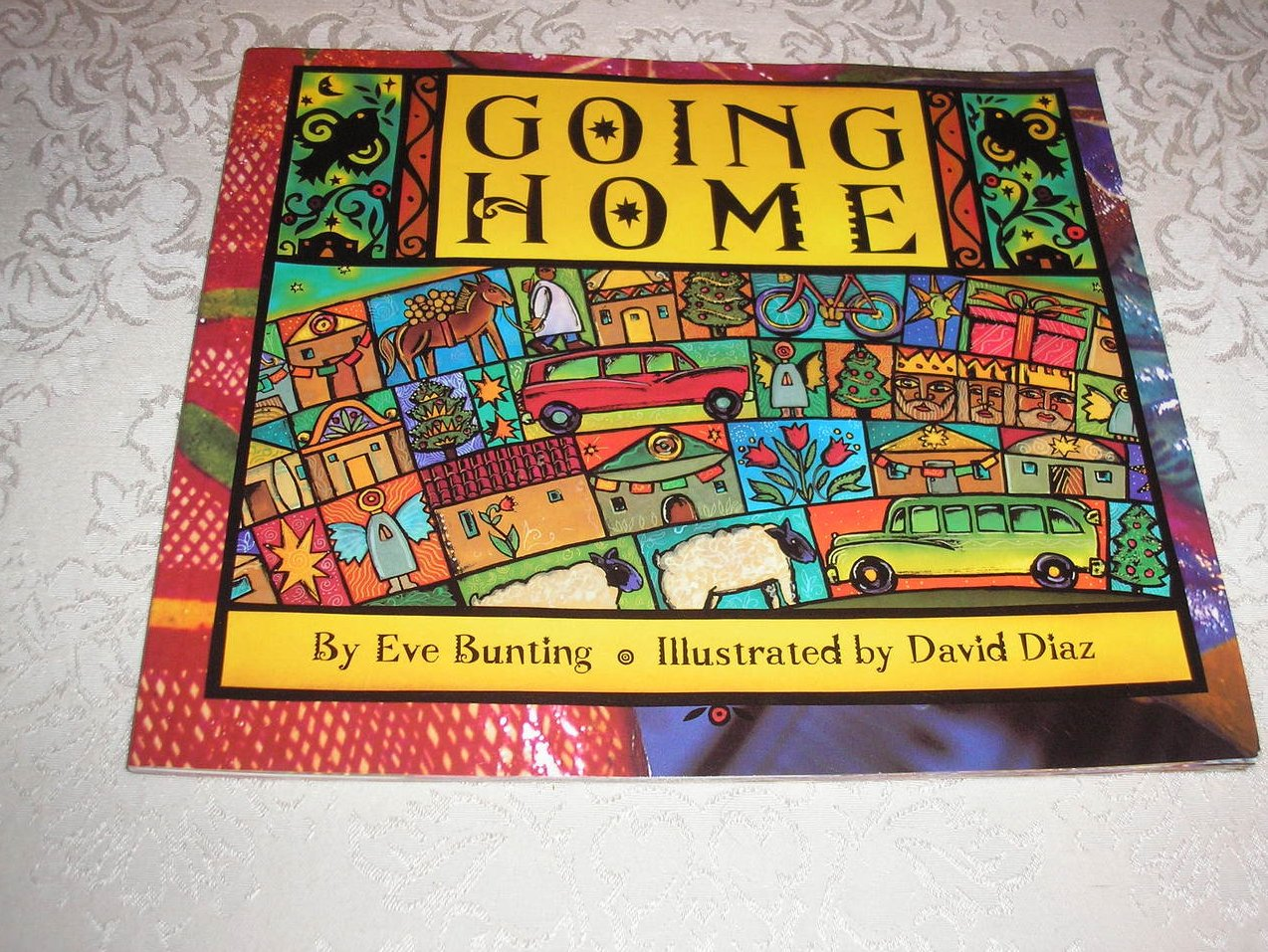 Going Home Eve Bunting used rare sc