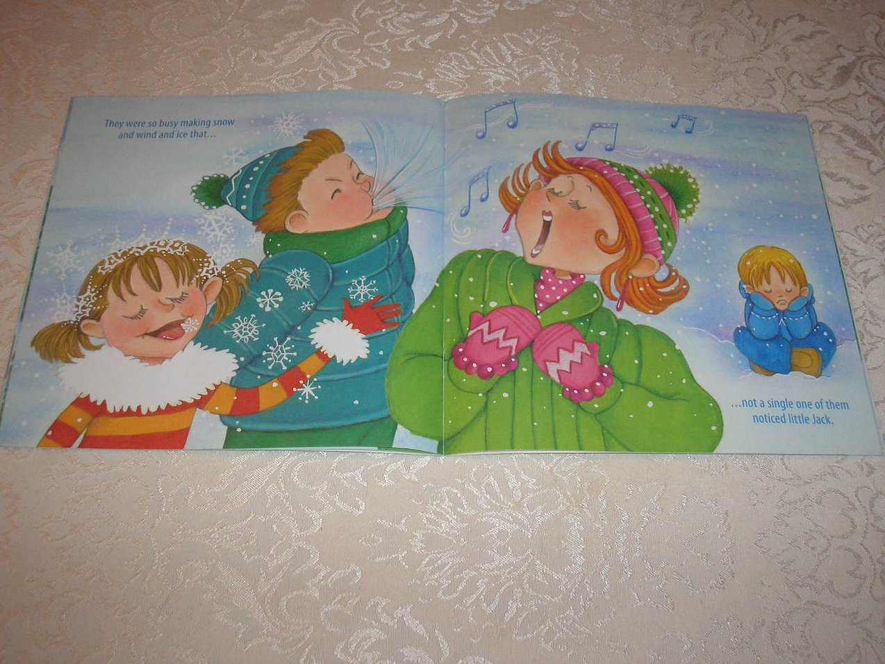 Image 3 of  The Tale of Jack Frost Marcia Thornton Jones Very Good Softcover