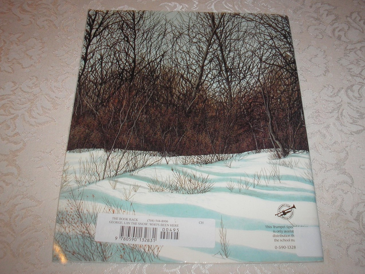Image 5 of In the Snow: Who's Been Here? Lindsay Barrett George Good Rare Softcover