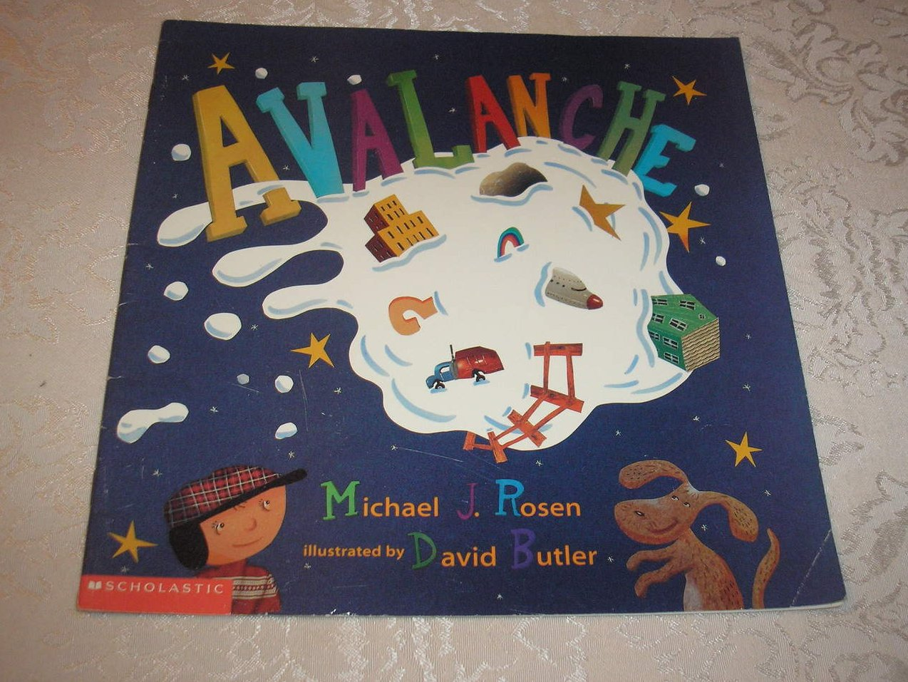 Avalanche Michael J. Rosen Good Rare Alphabet Softcover