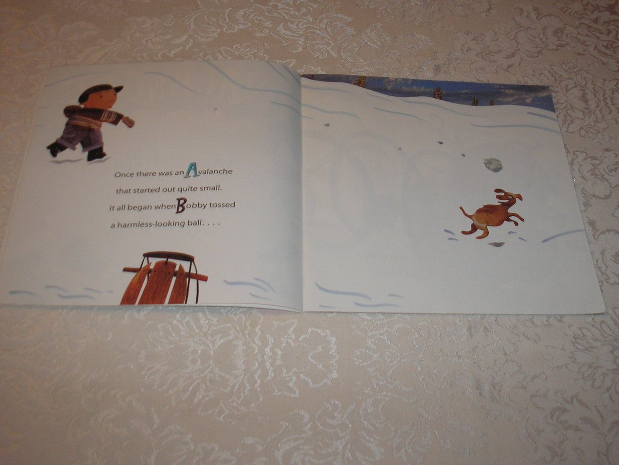 Image 2 of Avalanche Michael J. Rosen Good Rare Alphabet Softcover