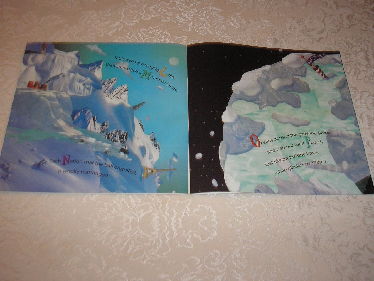 Image 4 of Avalanche Michael J. Rosen Good Rare Alphabet Softcover