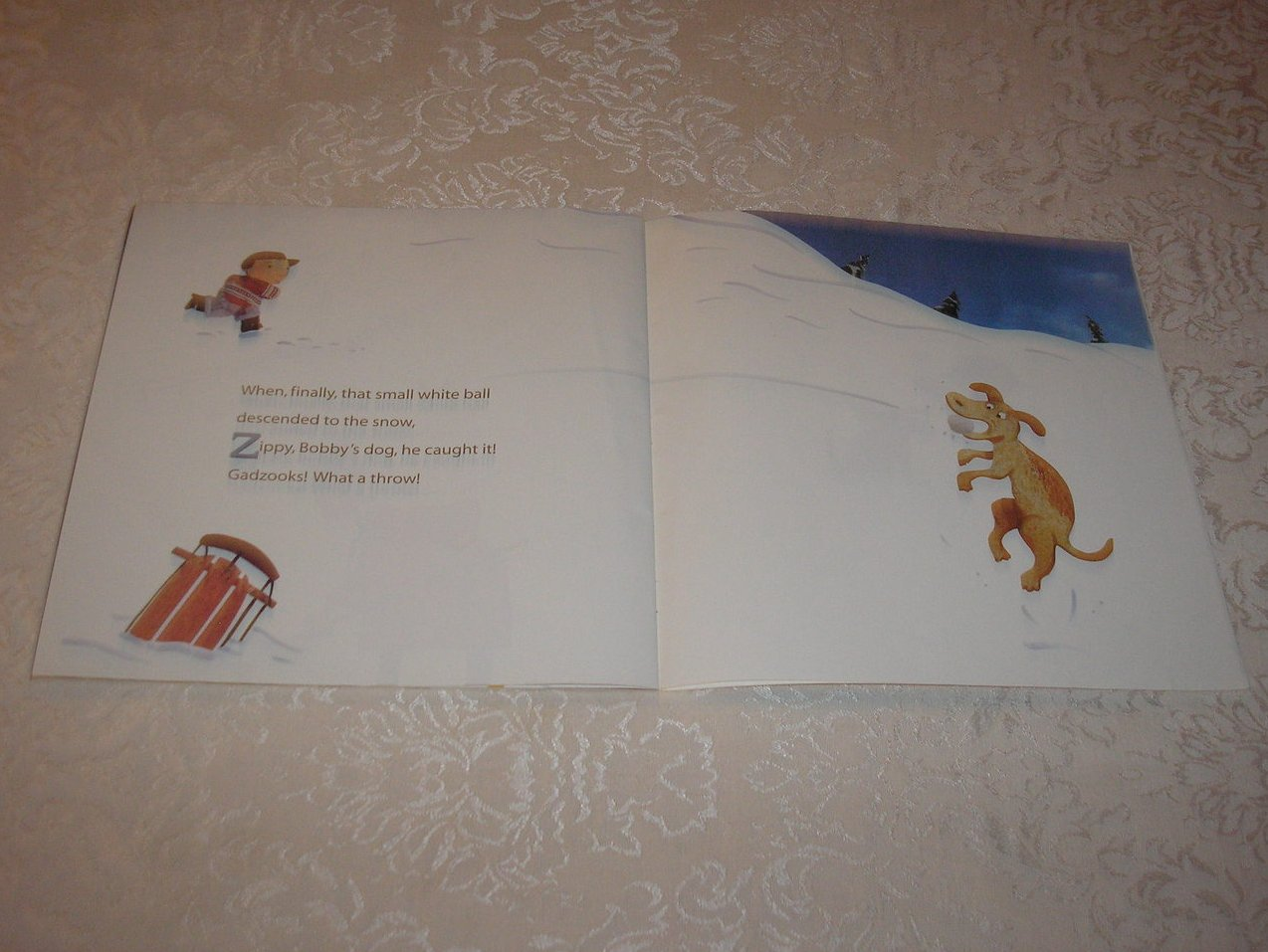 Image 5 of Avalanche Michael J. Rosen Good Rare Alphabet Softcover