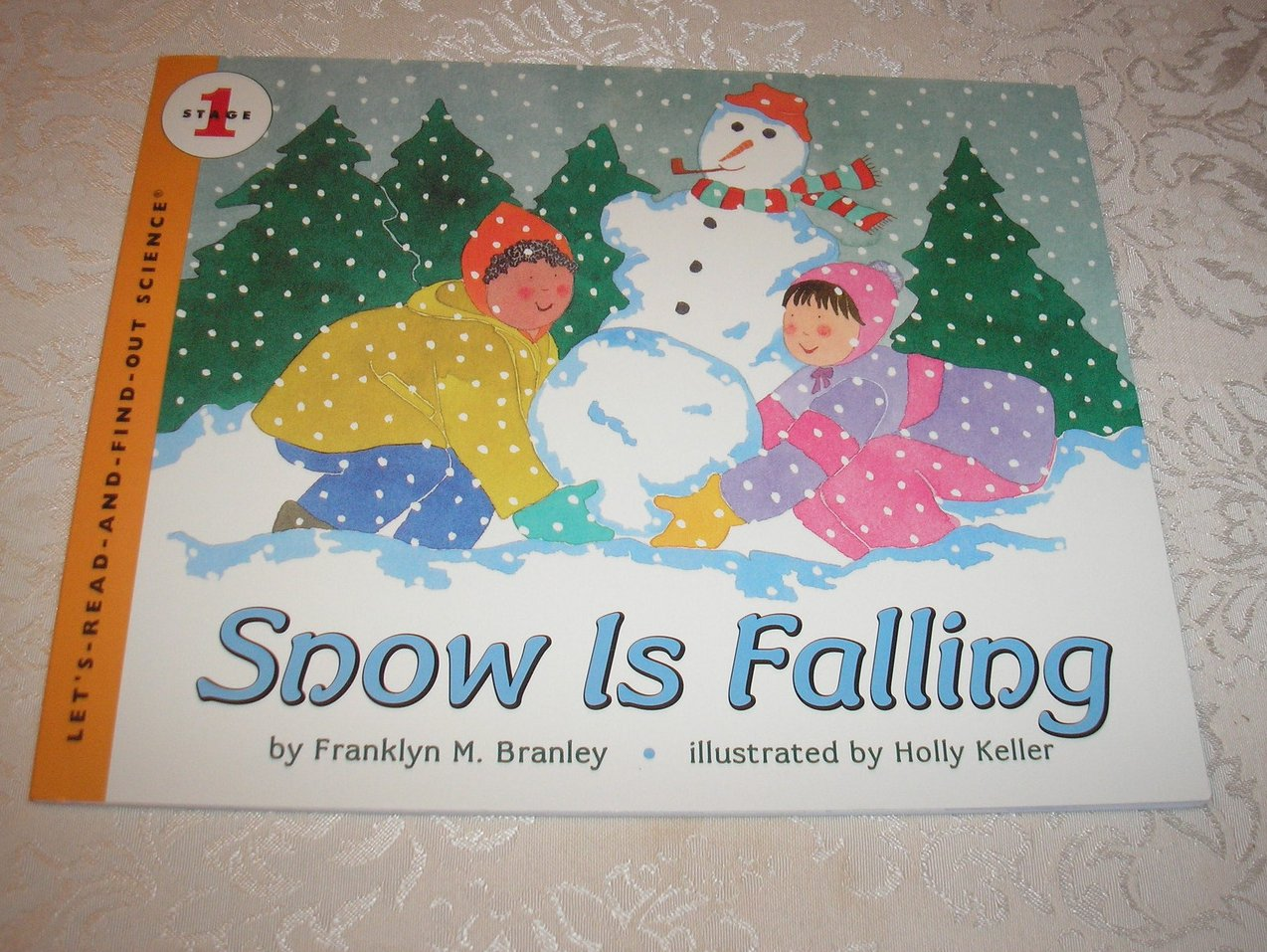 Snow Is Falling Franklyn M. Branley brand new stage 1 science sc