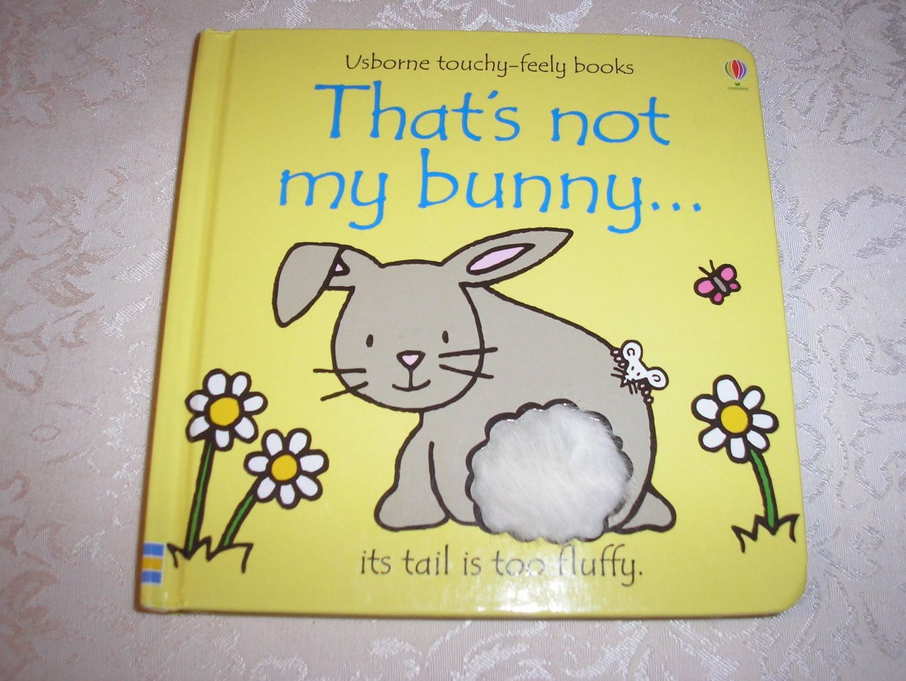That's Not My Bunny Usborne Touchy-Feely good board book