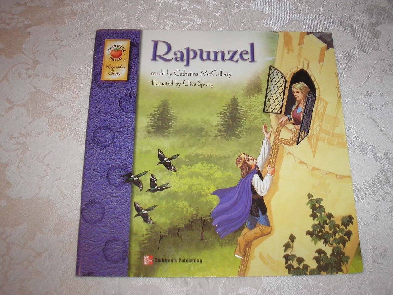 Rapunzel retold by Catherine McCafferty very good sc