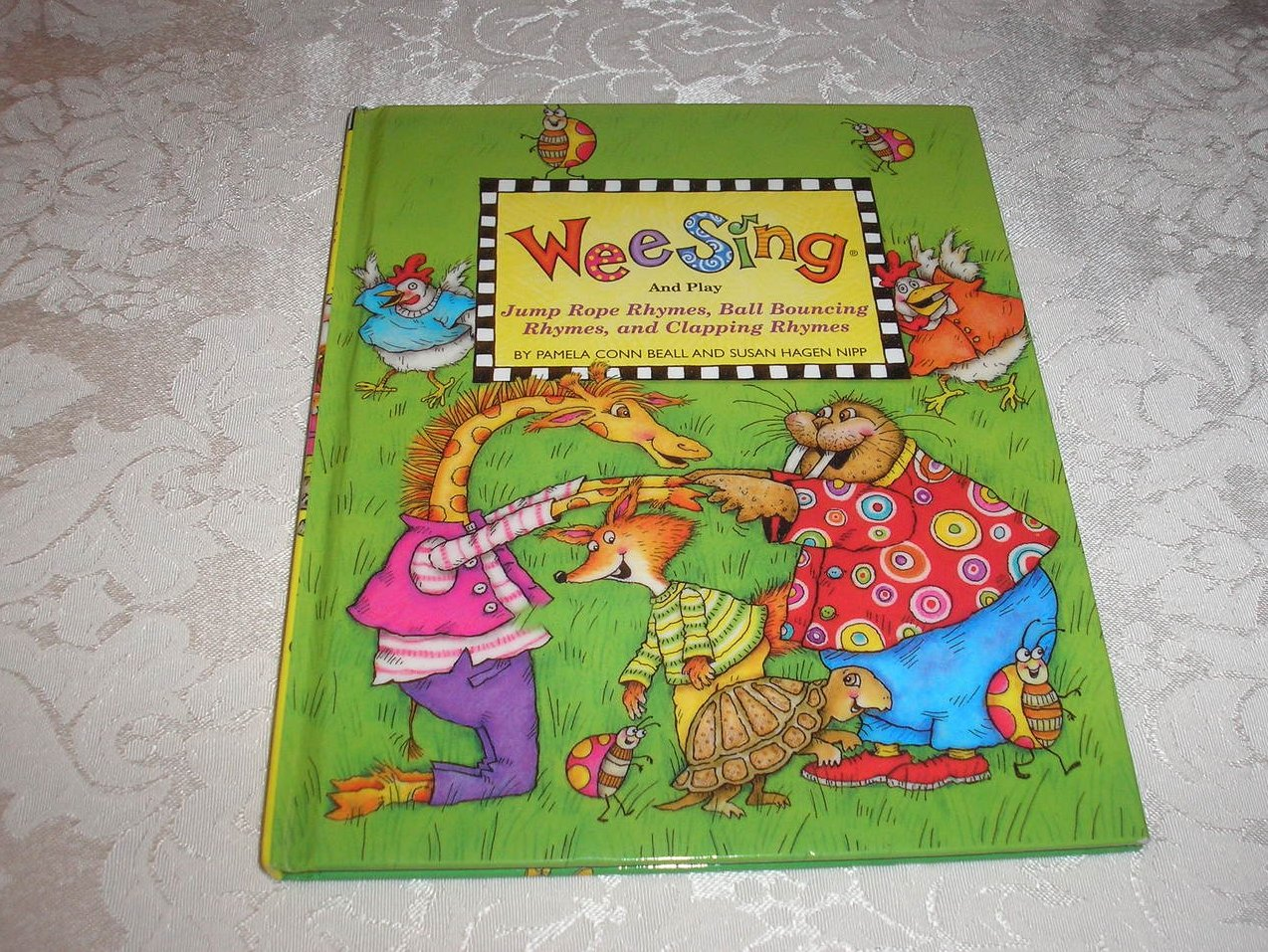 Wee Sing And Play Rhymes book series 3 very good hc