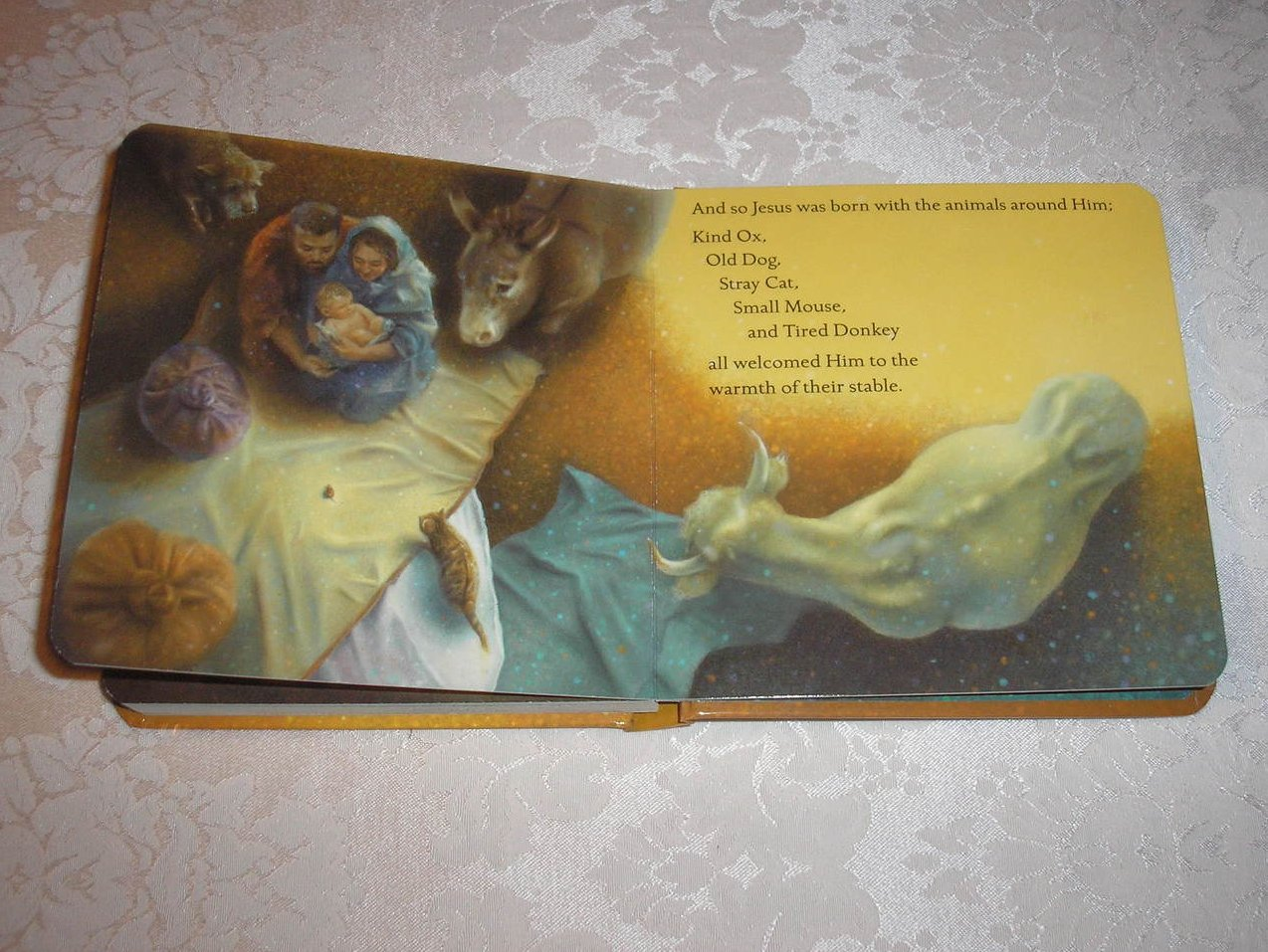 Room For A Little One Christmas Tale Martin Waddell Brand New Padded
