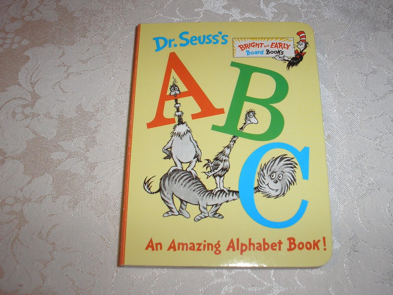 Dr. Seuss's ABC brand new board book
