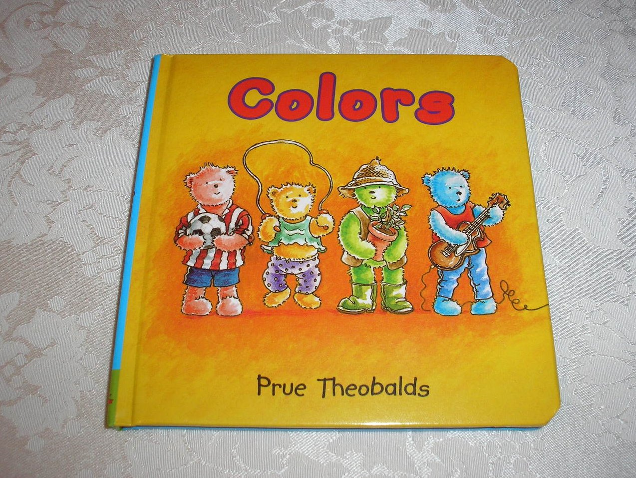 Colors Prue Theobalds brand new padded board book