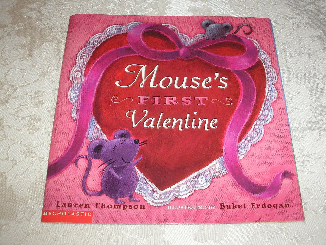 Mouse's First Valentine Lauren Thompson very good sc